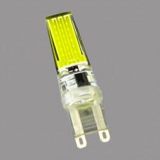 G9-5W-3000K Лампа LED COB (силикон)